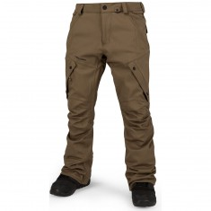Volcom Articulated Snowboard Pants - Teak