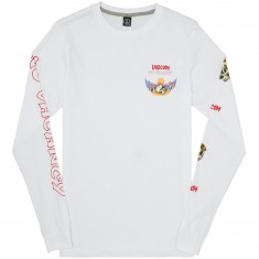Volcom Deserted Long Sleeve T-Shirt - White