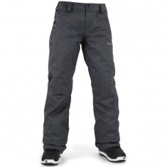 Volcom Frochickie Insulated Snowboard Pants - Charcoal