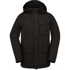 Volcom Mails Insulated Snowboard Jacket - Black