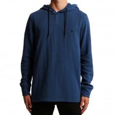 Volcom Murphy Thermal Shirt - Smokey Blue