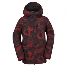 Volcom Prospect Insulated Snowboard Jacket - Red