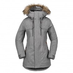 Volcom Shadow Insulated Snowboard Jacket - Heather Grey