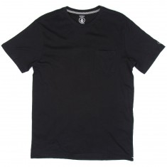 Volcom Solid Pocket T-Shirt - Black