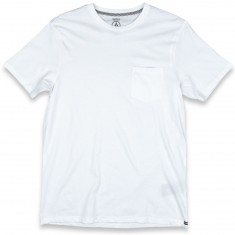 Volcom Solid Pocket T-Shirt - White