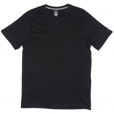 Volcom Solid Short Sleeve T-Shirt - Black
