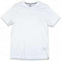 Volcom Solid Short Sleeve T-Shirt - White