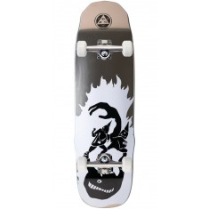 Welcome Creepers on Necromancer Skateboard Complete - Silver Foil - 9.125