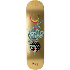 Welcome Demon Prince on Yung Nibiru Skateboard Deck - Gold - 8.25