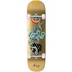 Welcome Demon Prince on Yung Nibiru Skateboard Complete - Gold - 8.25