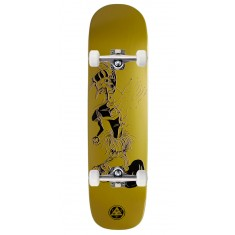 Welcome Effigy On Yung Nibiru Skateboard Complete - Gold - 8.25""