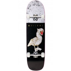 Welcome Gooser on Son of Planchette Skateboard Complete - Black/White - 8.38