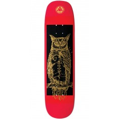 Welcome Heartwise on Phoenix Skateboard Deck - Red/Gold - 8.0