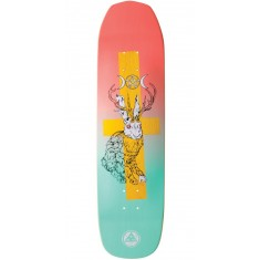 Welcome Jack Magick on Vimana Skateboard Deck - Coral/Teal - 8.25