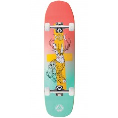 Welcome Jack Magick on Vimana Skateboard Complete - Coral/Teal - 8.25