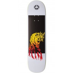 Welcome Maned Woof on Bunyip Skateboard Deck - White - 8.0