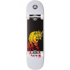 Welcome Maned Woof on Bunyip Skateboard Complete - White - 8.0