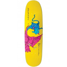 Welcome Miller Prequel on Catblood 2.0 Skateboard Deck - Neon Yellow - 8.75