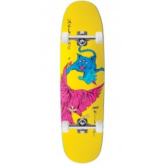 Welcome Miller Prequel on Catblood 2.0 Skateboard Complete - Neon Yellow - 8.75