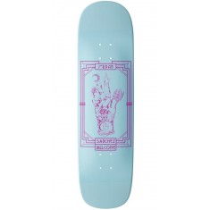 Welcome Philosophers Hand on Nibiru Skateboard Deck - Jordan Sanchez - Blue Dip - 8.75