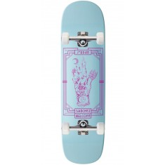 Welcome Philosophers Hand on Nibiru Skateboard Complete - Jordan Sanchez - Blue Dip - 8.75