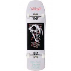 Welcome Saberskull on Time Traveler Skateboard Complete - White Dip - 8.8
