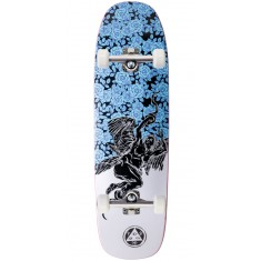 Welcome Seraphim on Golem Skateboard Complete - Black/White - 9.25