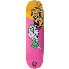 Welcome Transcend on Moontrimmer 2.0 Skateboard Deck - Rose/Yellow Stain - 8.5