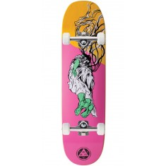 Welcome Transcend on Moontrimmer 2.0 Skateboard Complete - Rose/Yellow Stain - 8.5