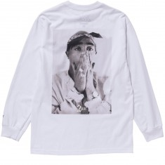 XLarge X 2 Pac Photo Long Sleeve T-Shirt - White