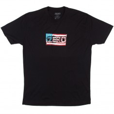 Zero American Punk T-Shirt - Black