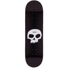 Zero Single Skull Skateboard Deck - 8.00""