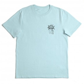 Imperial Motion Fully Charged Vintage T-Shirt - Aqua Pigment