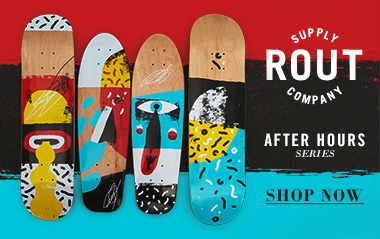 Rout Skateboard Decks