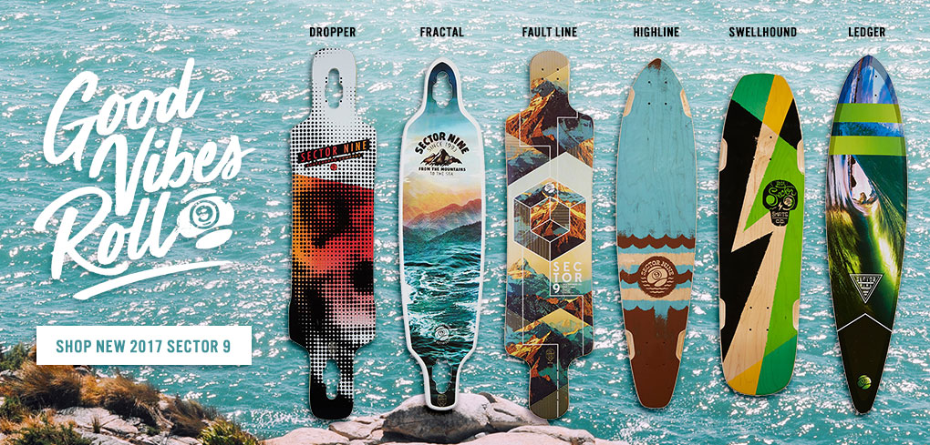 New Sector 9 Longboards