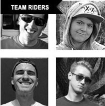 Daddies Board Shop Team Riders
