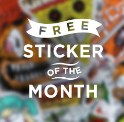 Sticker of the Month