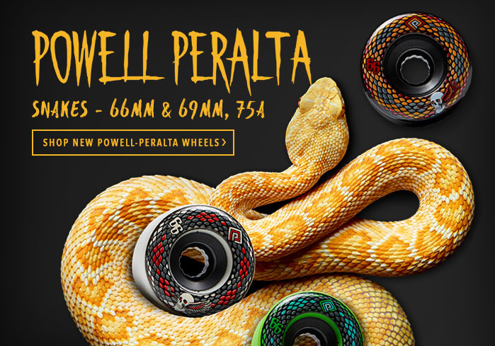 New Powell Peralta Snakes Wheels